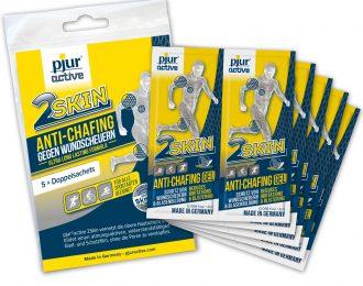 Gel za preprečevanje odrgnin pjuractive 2skin (5 paketkov), skupaj 20ml