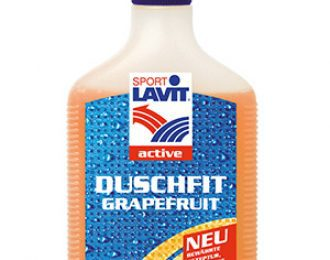 Hladilni gel za tuširanje SPORT LAVIT DUSCHFIT GRAPE, 200ml