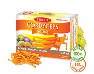 Prehransko dopolnilo za športnike Cordyceps active