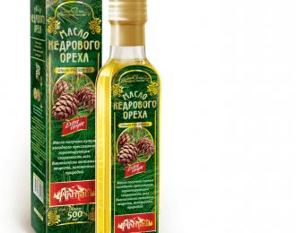 Olje sibirske cedre-100%, hladno stiskano,  500ml