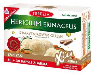 Hericium erinaceus z oljem rakitovca-ni na zalogi